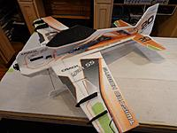 Name: CYSL-145A.jpg Views: 293 Size: 86.0 KB Description: Install a small piece of Velcro somewhere between the aileron servo and firewall. Once the battery location has been determined after flying, a hole can be cut to hole the battery