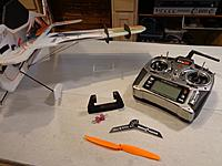 Name: CYSL-146A.jpg Views: 266 Size: 86.0 KB Description: Balance the prop. Set max control throws to 60 degrees on the Elevator, Rudder and Ailerons, Expo 60% on all. Adjust from there to taste after flying