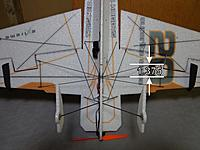 """Name: COGa.jpg Views: 342 Size: 210.5 KB Description: Center of Gravity - 1.375"""" back from the main wing spar"""