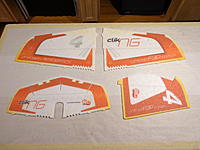 Name: DSC05290.jpg Views: 81 Size: 465.3 KB Description: Starting the build.... locate the Wings, Elevator and Rudder