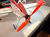 Name: DSC05549.jpg Views: 46 Size: 448.3 KB Description: Mount the motor to the firewall... position so the wires are on the side of the fuselage that you will install the ESC on