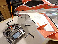 Name: DSC05570.jpg Views: 40 Size: 440.6 KB Description: Program in approx 60% expo on the ailerons and 40% expo on the rudder and elevator