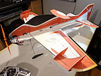 Name: DSC05574.jpg Views: 41 Size: 491.7 KB Description: Give everything a once over.. make sure all the servo horns are screwed on and that a balanced prop is installed.... All that is left now is the Maiden. Enjoy