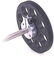 Name: 120T_Robotzone_Nylon_Gear_on_shaft.jpg