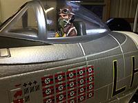 "Name: image.jpg Views: 14 Size: 570.4 KB Description: At the controls of the  490447/LH-1 ""Jacky's revenge"" P-47 USAAF scheme."