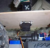 Name: NewBod - Gimbal pan servo underneath plank.jpg