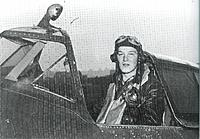 Name: Ralph Hofer in cockpit of P-47 001.jpg