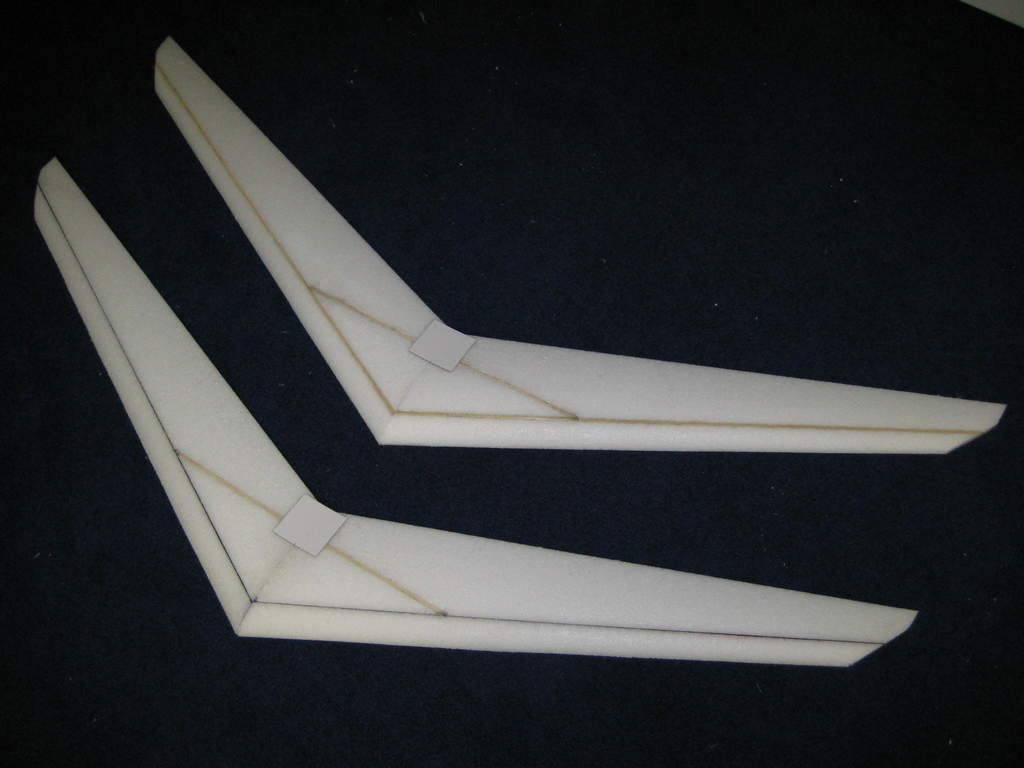 "This is the top of the same wing.  This spar system takes 6 spars in the ""A"" shaped spar  pattern.  DO IT!!!! You'll love it."