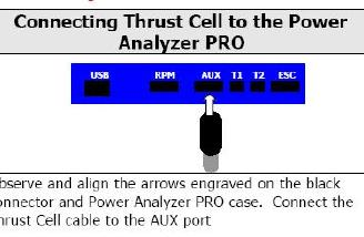 The thrust cell connection to the PAP unit.