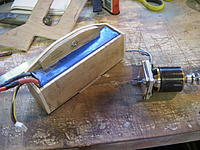 Name: RIMG0004.jpg Views: 128 Size: 294.4 KB Description: Step 3: Battery retainer and motor mount. All plywood is 5mm.