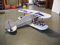 Name: RIMG0017.jpg Views: 128 Size: 183.2 KB Description: Top wing with I struts glued to aircraft. Wing set at -1.5 dgrees.