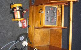 Nice Field box with starter, power panel, fuel pump, etc.