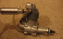 Very Nice Vintage OS FS90 Four Stroke Engine with Muffler