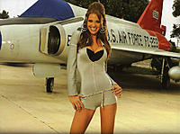Name: smoking hot girl with usaf fighter jet.jpg