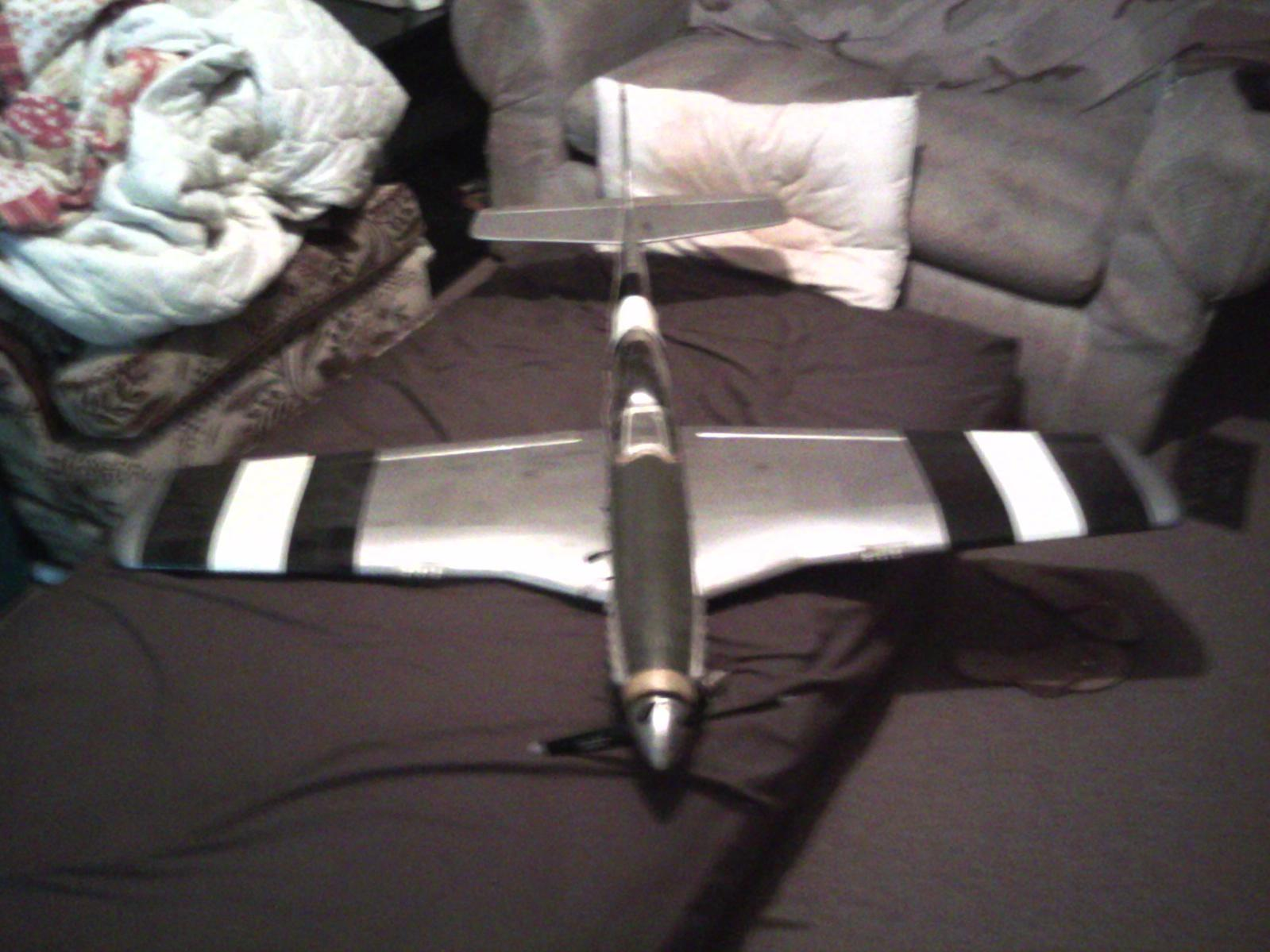P-51 with invasion strips