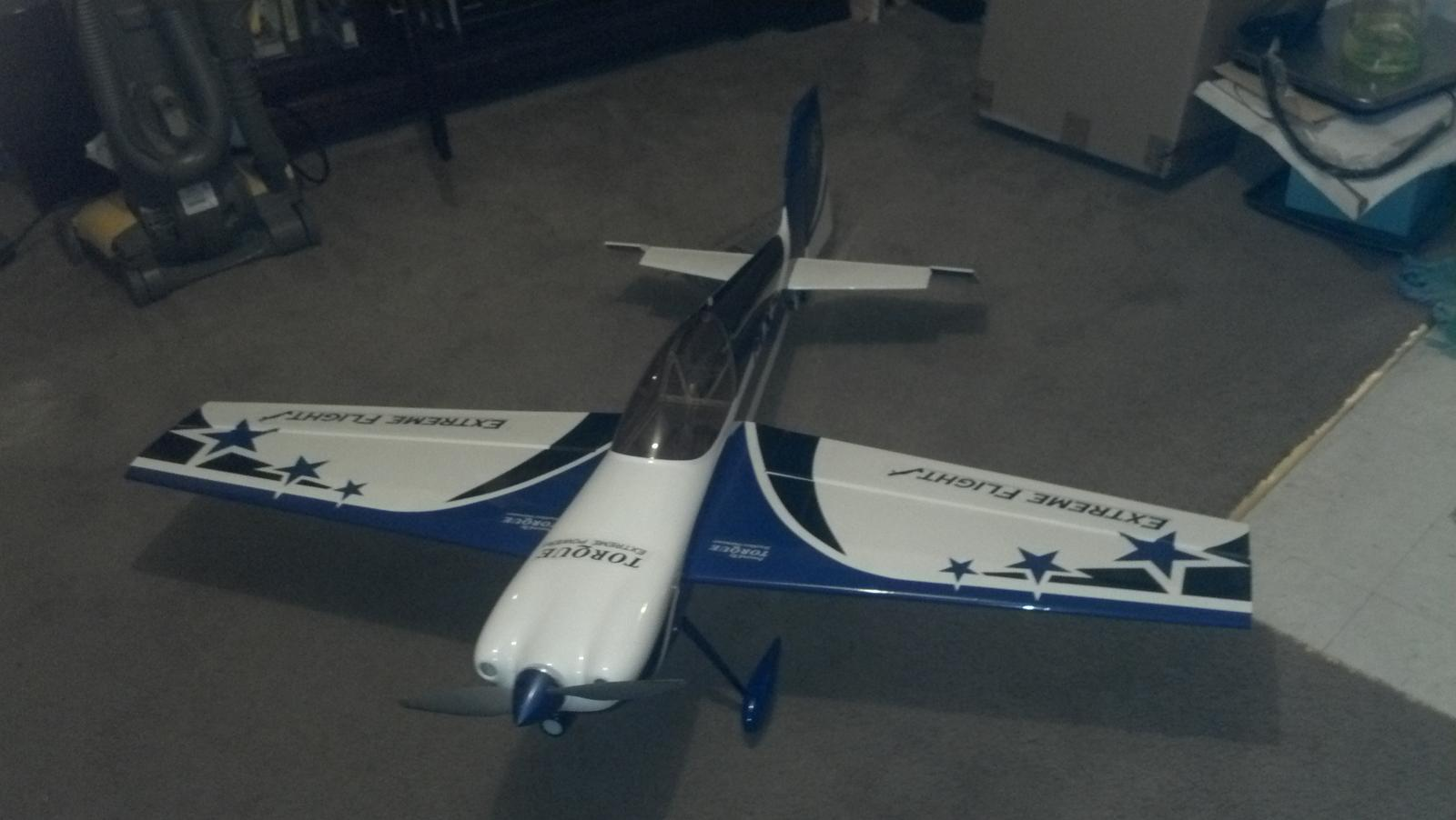 My first Extreme Flight build I got last week. Build was simple.