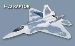 Rare RCLander Modified 90mm Fly Fly F-22 KIT Plus