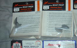 Boat Props Prather,ABC,K&B,and More