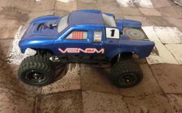 Team Losi Micro T Desert Truck w/ xcelorin brushless kit
