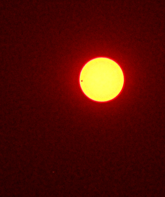 Venus transit at about 6:45am from Harbin, China.