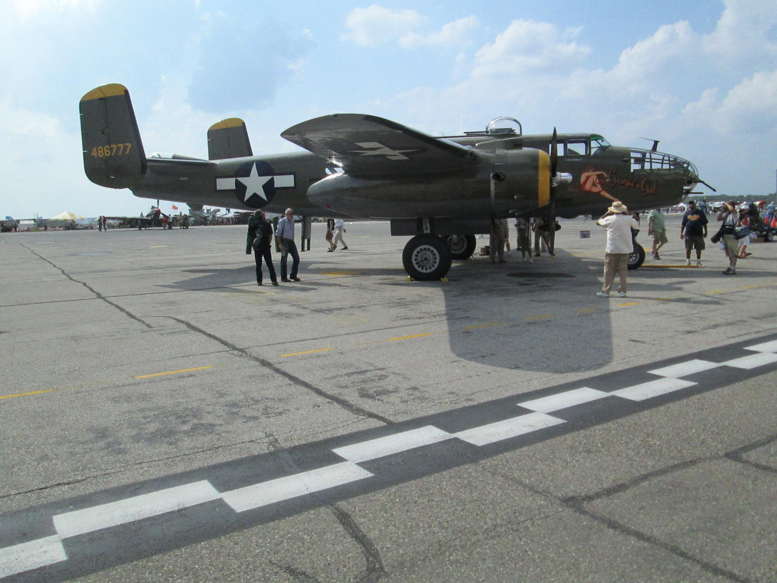 Willow Run Air Show 2012 B24