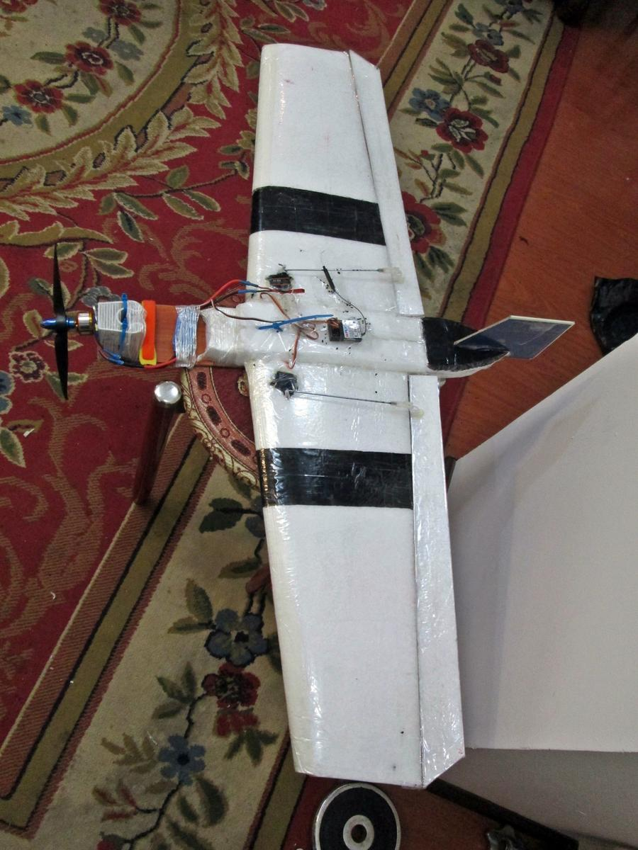 rc EPP foam plank wing