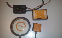 Used Naza M V2 with GPS protector