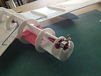 Name: Mig 001.jpg Views: 110 Size: 76.4 KB Description: Decided to move the motor way forward to help with the CG balance