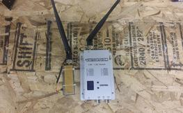1.3ghz 1500mw Vtx and FoxtechFPV receiver.