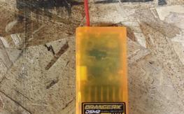Orange 6 channel DSM2 receiver