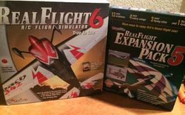 RealFlight 6 with two expansion packs