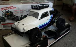2 Duratrax Baja Bugs (one is brand new)