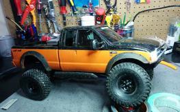SCX10 Scale crawler RTR