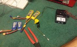 Random tools and batteries