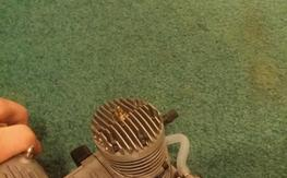 Evolution .46 nitro engine.