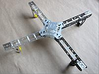 Name: Aircraft 450 CNC Metal MultiRotor Quadcopter Frame.jpg