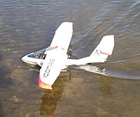 Name: Jans Icon.jpg Views: 69 Size: 165.7 KB Description: 32. Jan Bassett's Icon, flown on his first visit to the lake on 2 March 2013