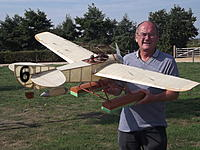 Name: 39. Nieuport.jpg Views: 43 Size: 294.6 KB Description: 39. David Bintcliffe's Nieuport Racer: originally powered by IC but skilfully converted and a good flier
