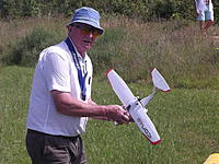Name: DSCF3382.JPG Views: 18 Size: 898.0 KB Description: 60. Malcolm MacKendrick's tiny Icon flew really well in perfect conditions also on 12 June.