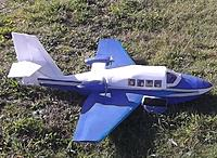 Name: DSCF4141 - Copy.JPG Views: 6 Size: 264.8 KB Description: 65. Nick Chud's Beriev 103, an own design by the master of unorthodox and unusual models, flown during the BIMBO meeting August 2014. Yes, it does ROW from its wings...sometimes!