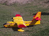 Name: DSCF4168.JPG Views: 7 Size: 913.4 KB Description: 66. Bob Corfield's Bombardier 415, bought SH and converted to brushless power.