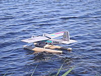 Name: DSCF4145.JPG Views: 4 Size: 919.9 KB Description: 68. Scott Wallis'sTwin Star on his OD floats, ex his Twin Otter, so a BIMBO connection. Very promising and much more seaworthy than the seaplane version. Includes self-righting from inverted.