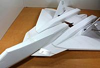 Name: T50 LE Flap.jpg Views: 83 Size: 71.3 KB Description: The leading edge canards on this foamy are really leading edge flaps