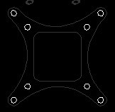 Name: OpenPilot Copter Control Adaptor Plate.jpg