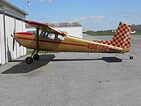 Name: DSCN3658.jpg Views: 11 Size: 732.8 KB Description: Harford County, Md.   Cessna 180 Skydiver ride. Last year's Oshkosh winning Piper J-3 was restored here.