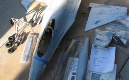 Yellow Aircraft F-16