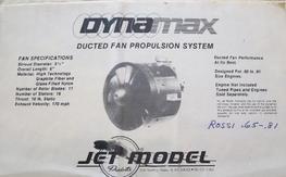 Dynamax ducted fan unit