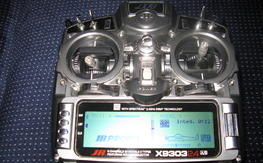 Jr x9303 dsm2 2.4 ghz transmitter