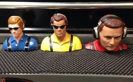 3 pilot figures