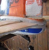 Name: Tail Wheel attachment to rudder.jpg